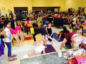 thrive yoga and fitness at get your fit on!